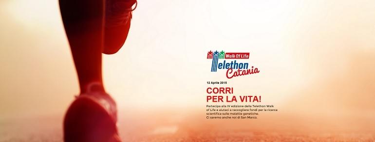 telethon san marco walk of life
