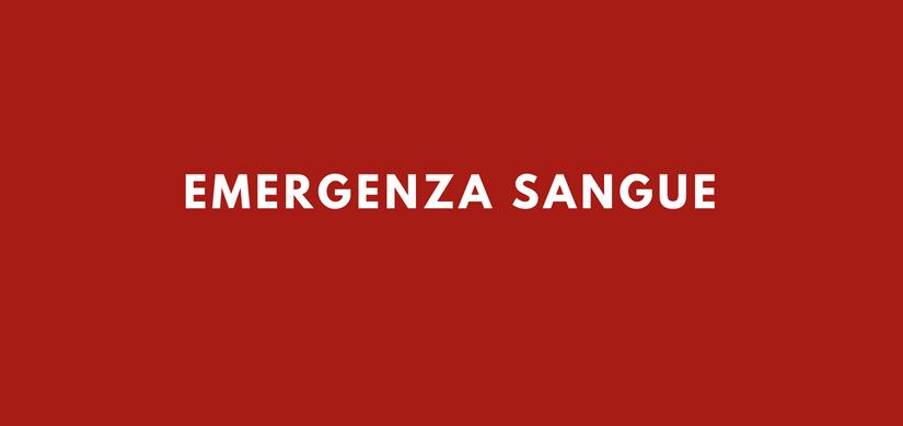 Emergenza sangue: doniamo il sangue prima delle ferie